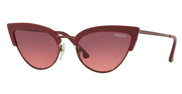 VOGUE Vogue Damen Sonnenbrille » VO5212S«, rot, 256620 - rot/ lila