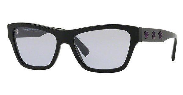Versace Damen Sonnenbrille » VE4344«, schwarz, GB1/1V - schwarz/gold
