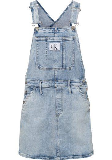 Calvin Klein Jeans Latzkleid »DUNGAREE DRESS« im typischen Marken-Design von Calvin Klein Jeans