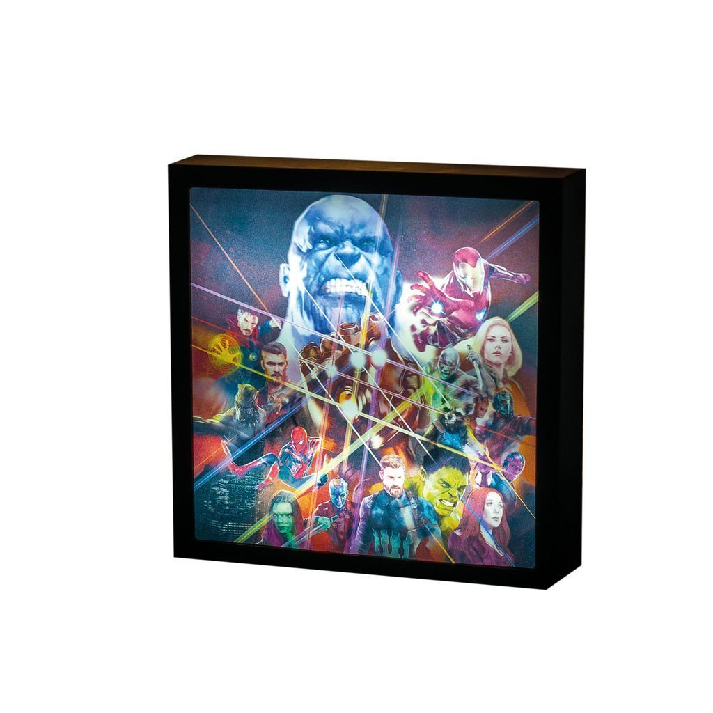 Paladone Fanartikel »Marvel Infinity War Luminart 3D Leuchte«
