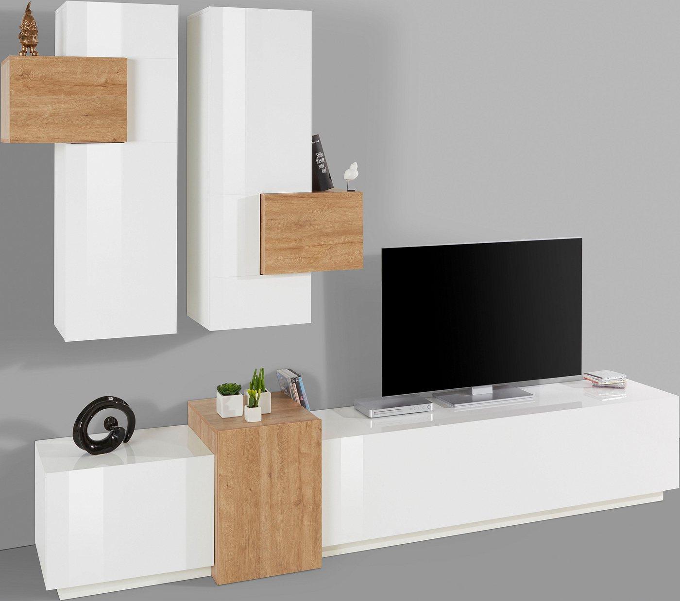 wohnwand zum h ngen machen sie den preisvergleich bei nextag. Black Bedroom Furniture Sets. Home Design Ideas