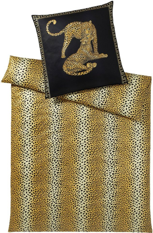 bettw sche gepard pair elegante mit geparden otto. Black Bedroom Furniture Sets. Home Design Ideas