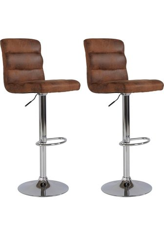 HOMEXPERTS Baro kėdė »Pearl« (Rinkinys 2 vienetai...