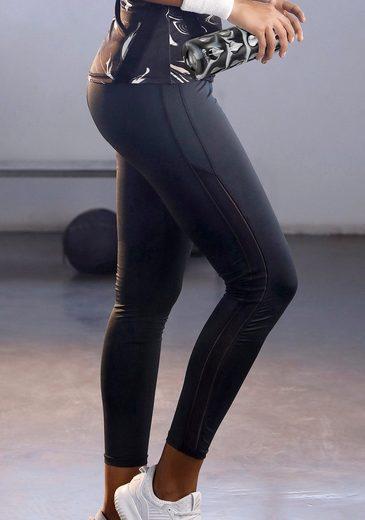 LASCANA Leggings »Black Marble« in 7/8-Länge