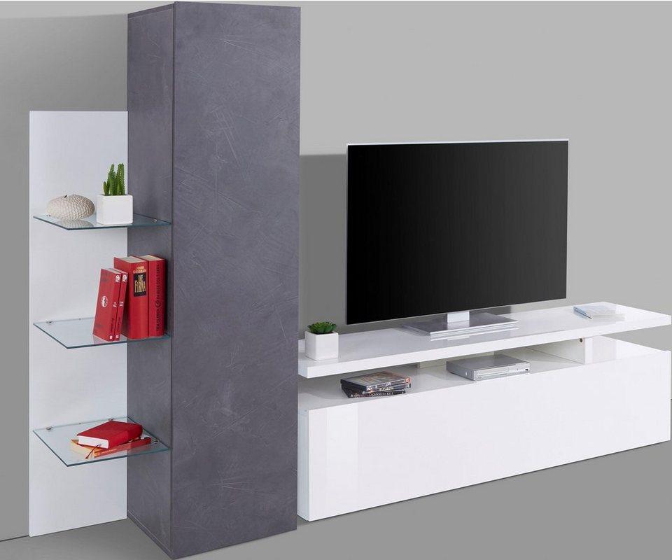 Tecnos TV-Wand »Trasimeno«, Breite 230 cm kaufen | OTTO