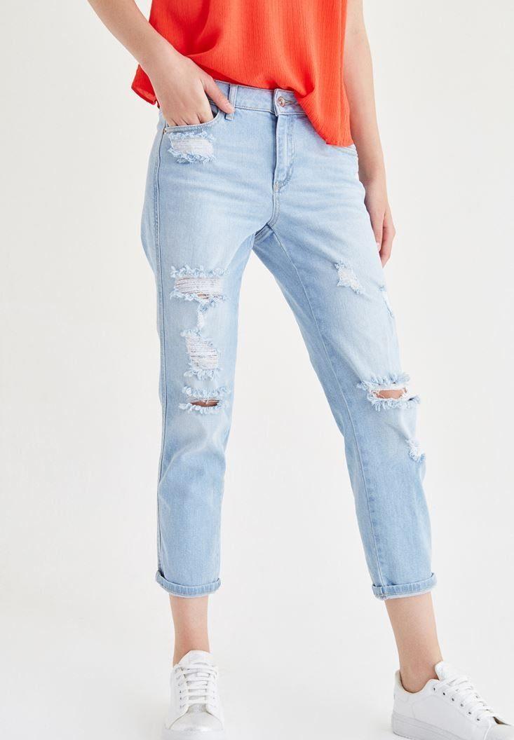 OXXO Boyfriend-Jeans in 3/4 Beinlänge