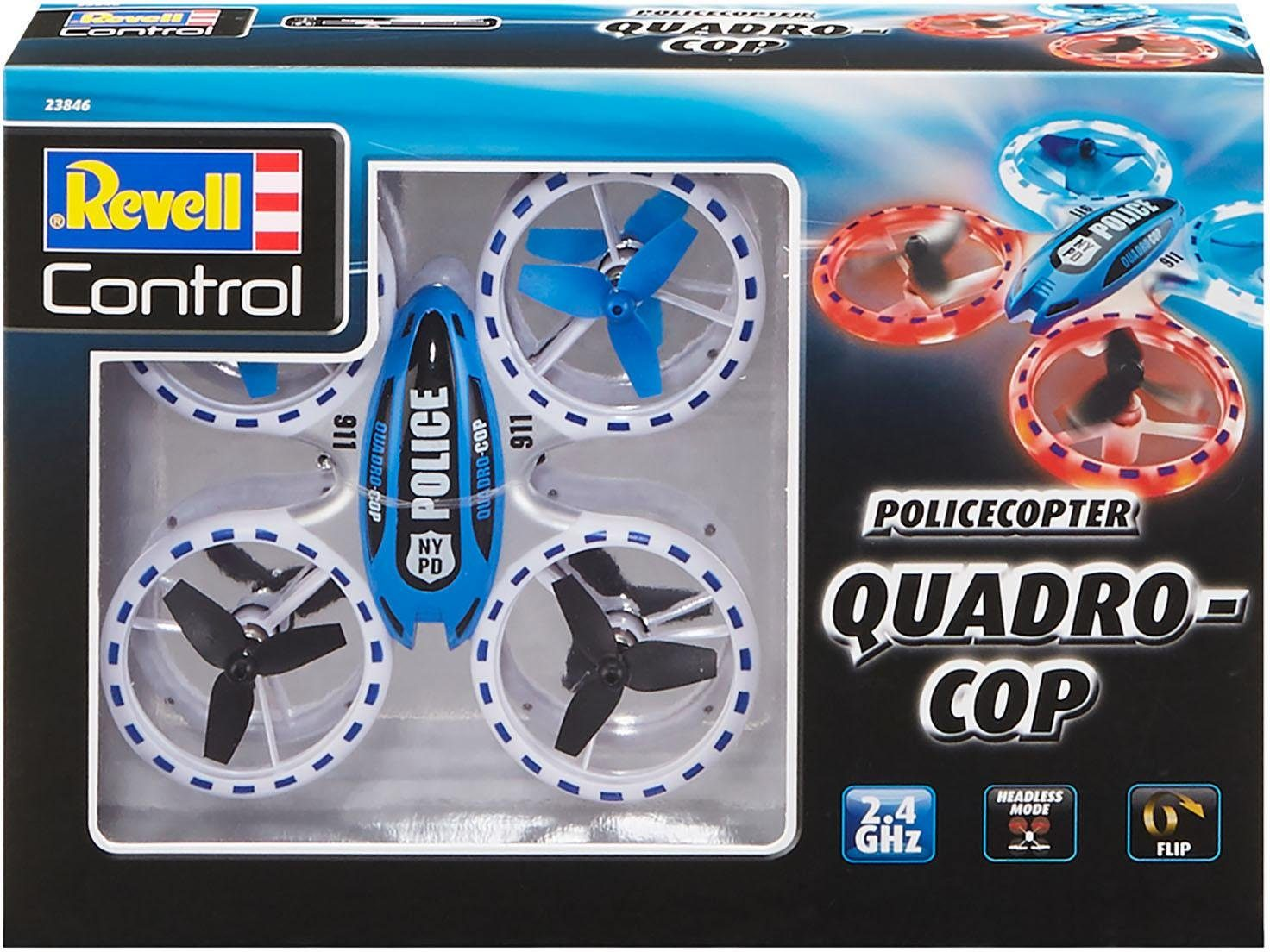 Revell RC Polizei Quadrocopter , »Revell® control, Quadro-Cop, 2,4 GHz«