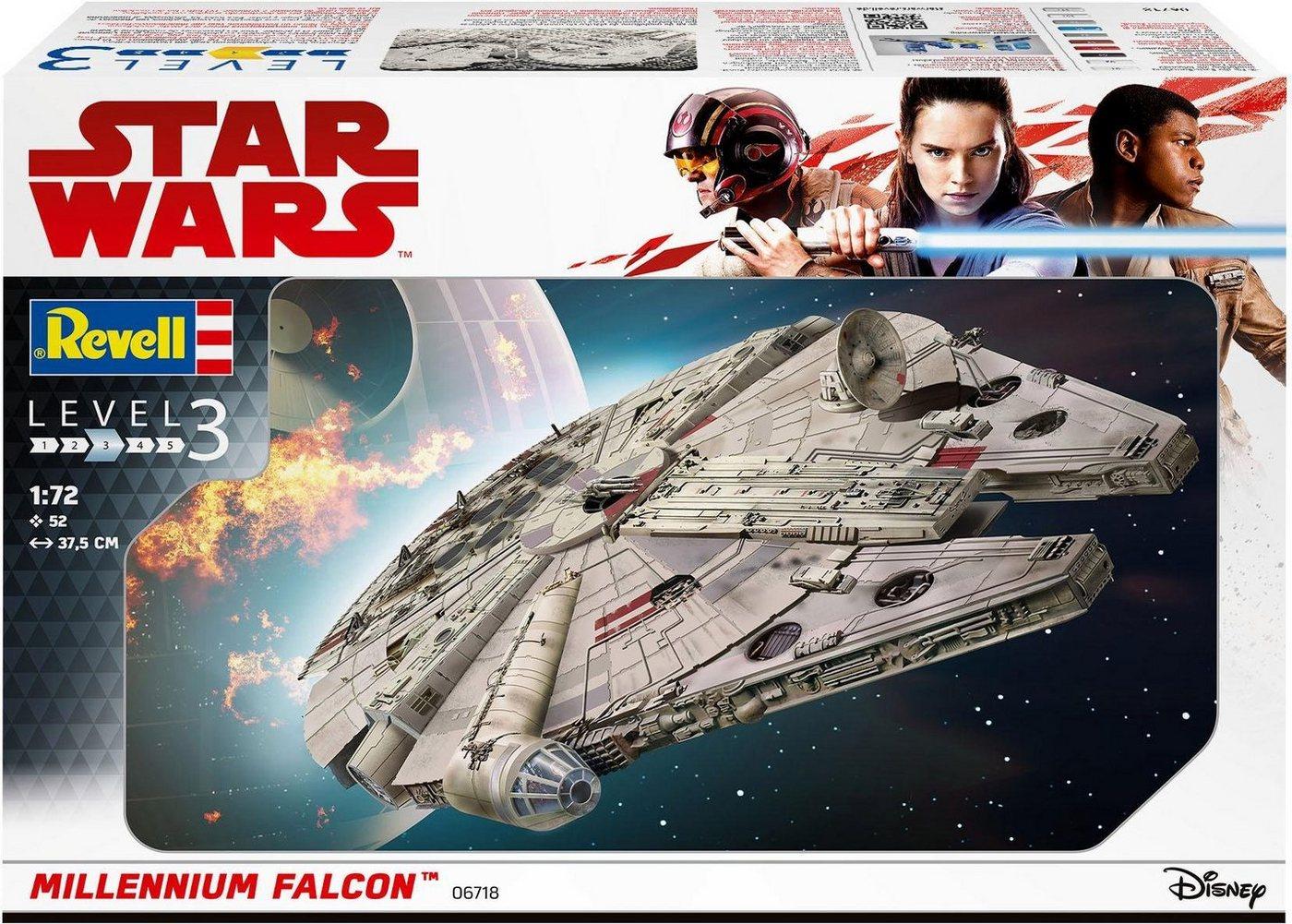 Revell Modellbausatz Raumschiff, Maßstab 1:72, »Dinsey Star Wars™ Millennium Falcon™«