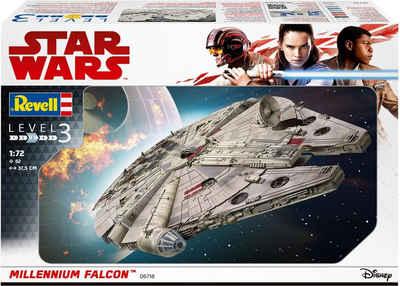 Revell® Modellbausatz »Star Wars™ Millennium Falcon™«, Maßstab 1:72, Made in Europe