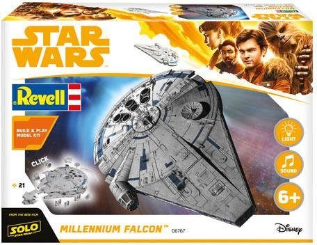 Revell Modellbausatz Raumschiff, 1:164, »Build & Play - Disney Star Wars™ - Millennium Falcon™«