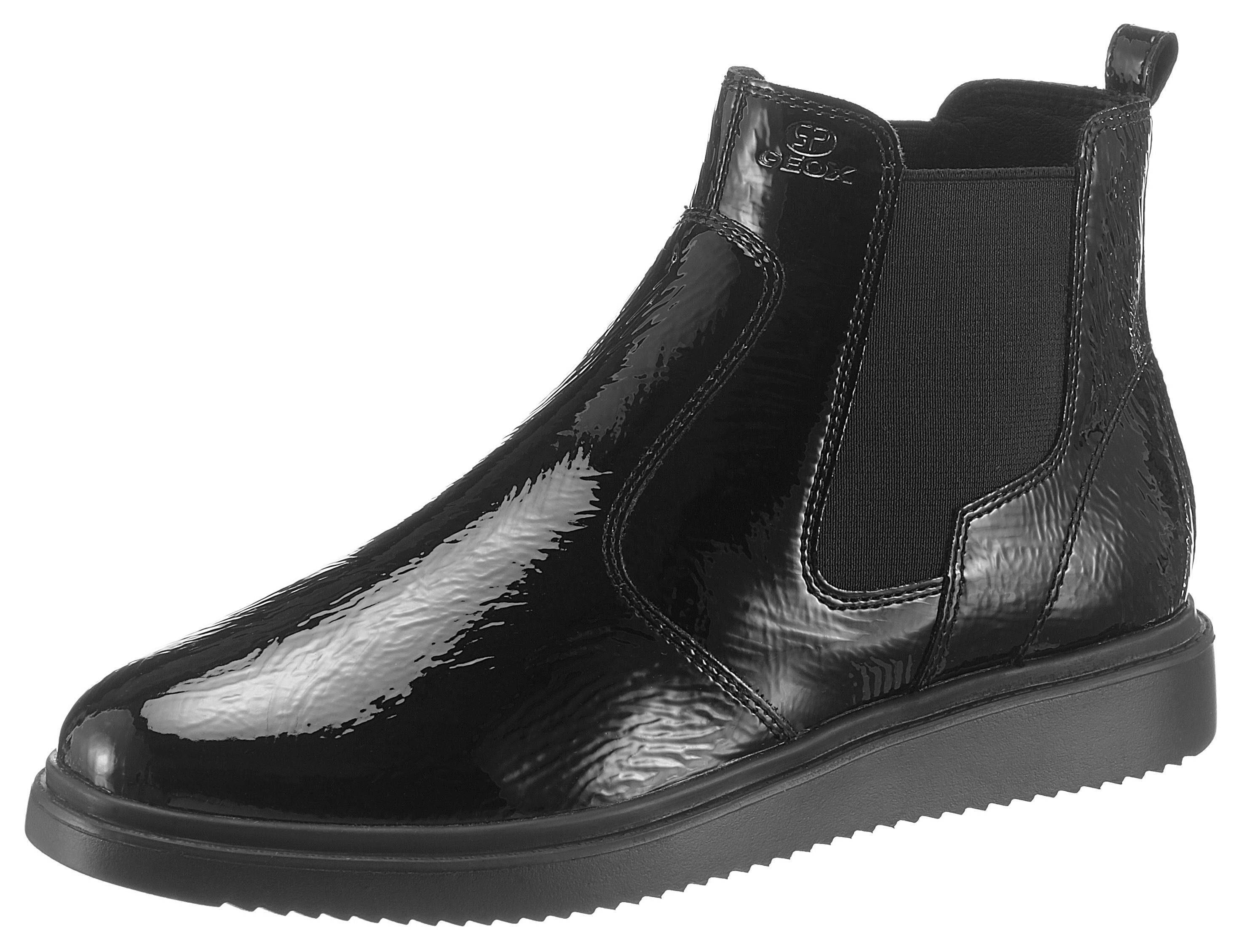 Geox Donna Nadynne Chelseaboots, in typischer Schlupfform online kaufen  schwarz