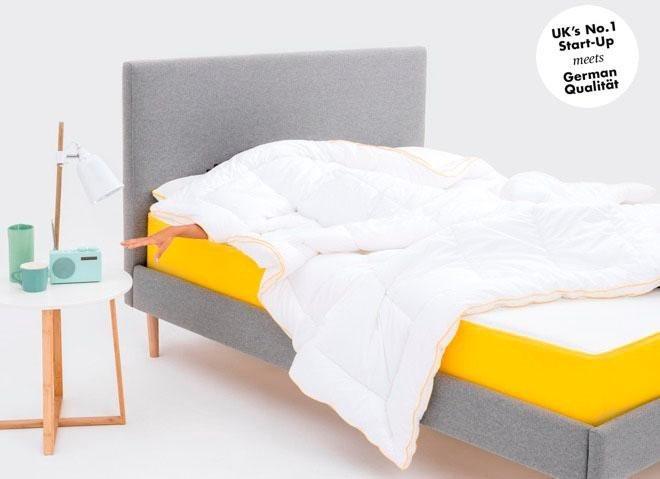 visco matratze eve 2 eve mattress 25 cm hoch raumgewicht 49 1 tlg besser mit jeder. Black Bedroom Furniture Sets. Home Design Ideas