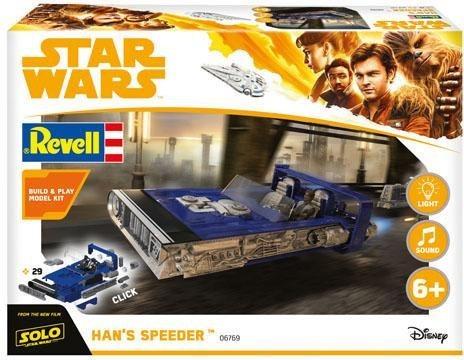 Revell Modellbausatz Raumschiff, 1:28, »Build & Play - Disney Star Wars™ - »Han´s Speeder««
