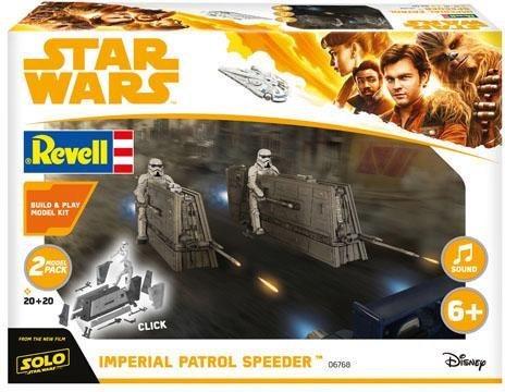 Revell Modellbausatz Raumschiff, 1:28, »Build & Play-Disney Star Wars™-»Imperial Patrol Speeder««