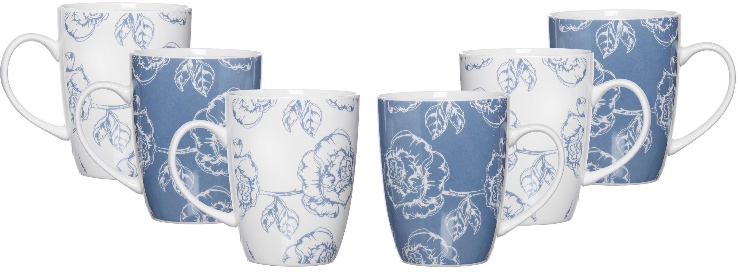 Ritzenhoff & Breker Becher »BLUE FLOWER« (6 Stück)
