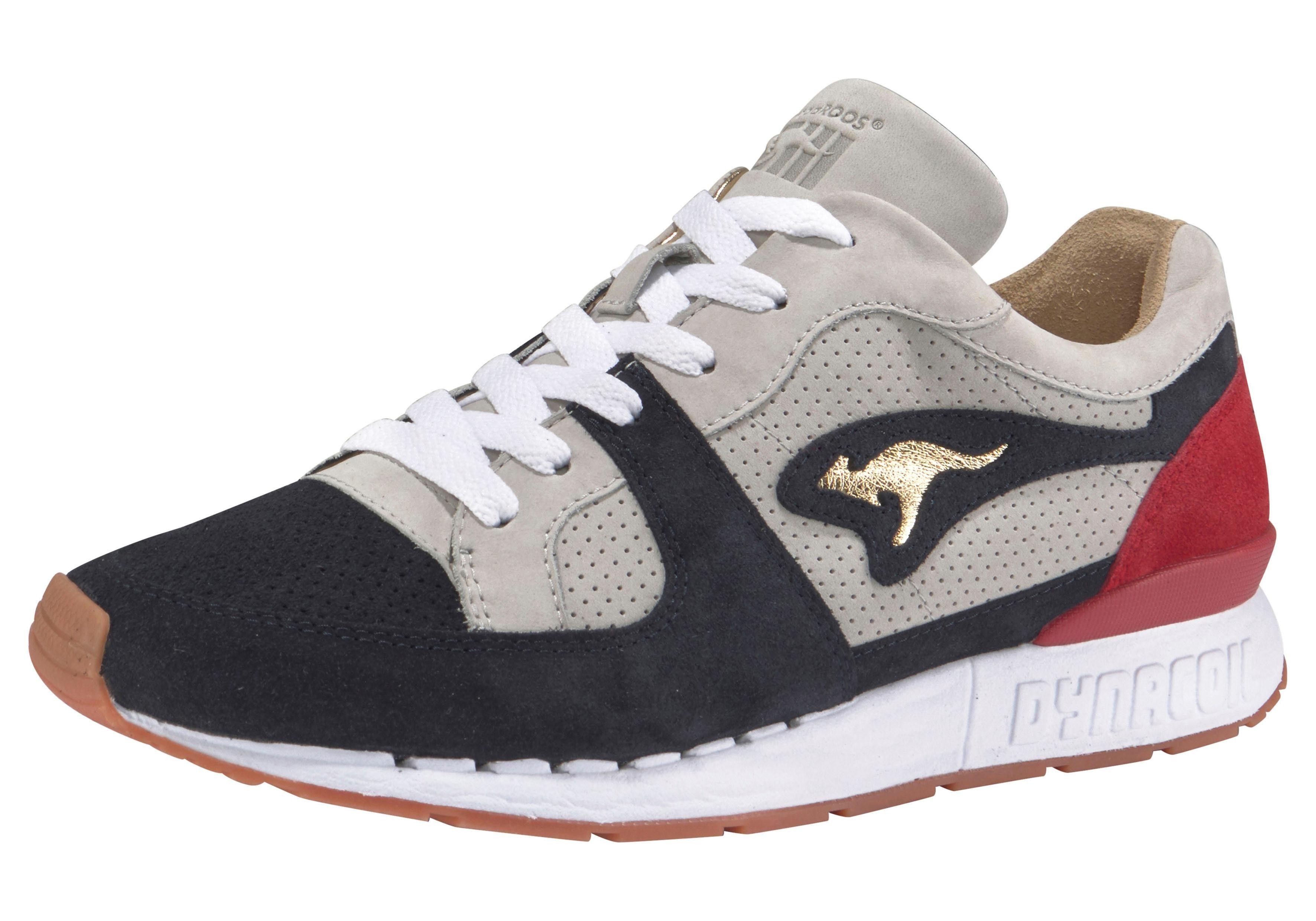 KangaROOS Coil R1 Playmaker Sneaker kaufen  grau-dunkelblau-rot