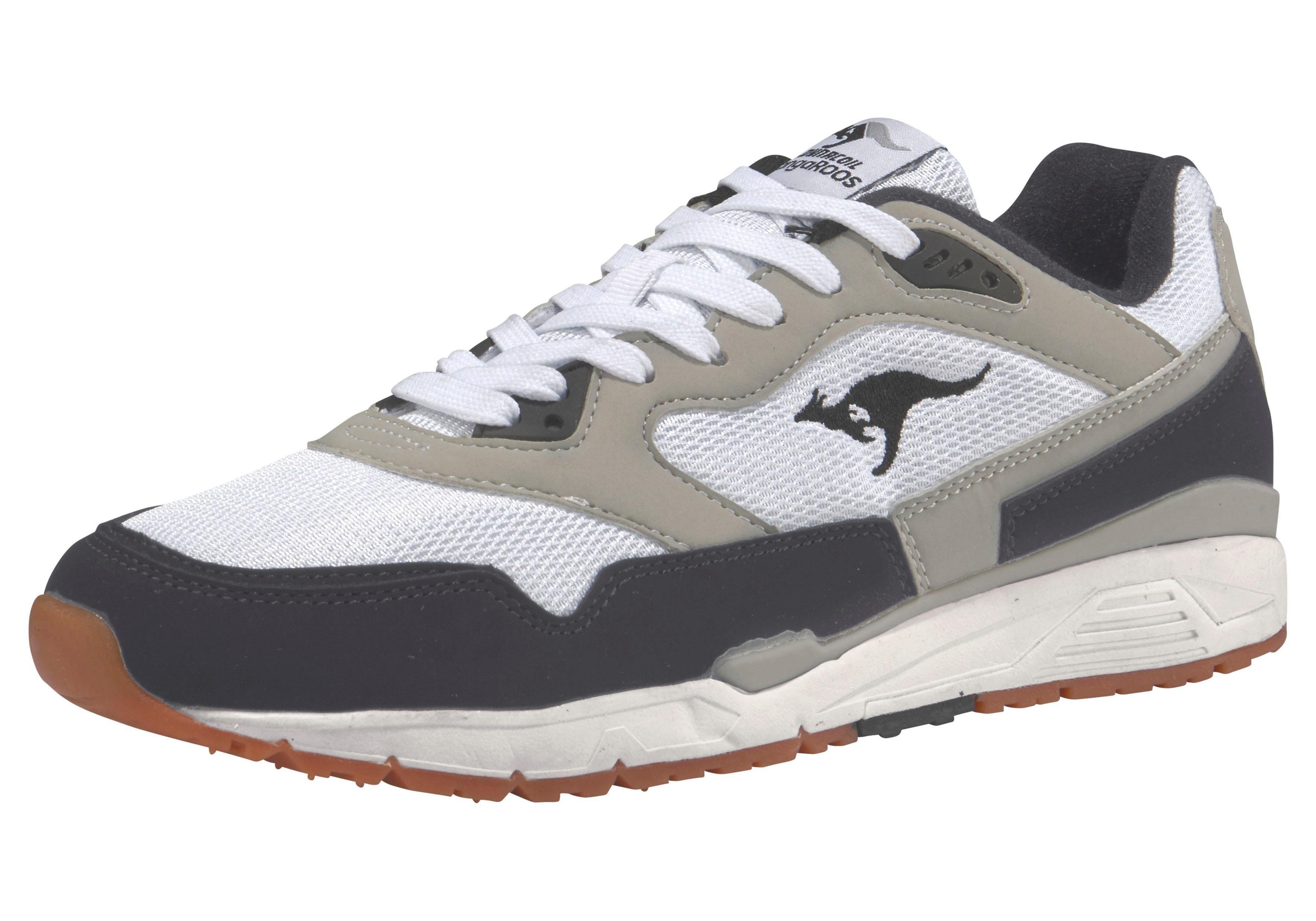 KangaROOS Ultimate Star OG Sneaker online kaufen  weiß-grau-schwarz