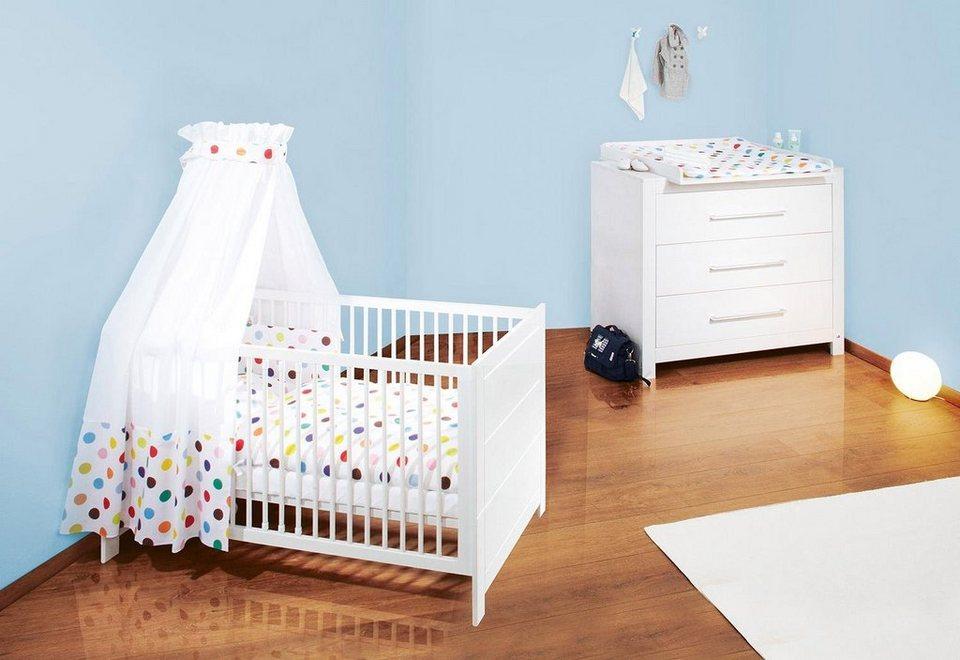 Pinolino babyzimmer set 2 tlg sparset puro breit online kaufen otto - Pinolino babyzimmer ...