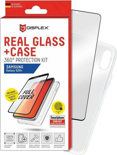 Displex »Real Glass 3D + Case für Samsung Galaxy S20+«, Displayschutzglas