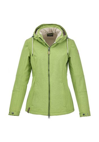 Damen G.I.G.A. DX by killtec Softshelljacke Suhari grün | 04056542857028