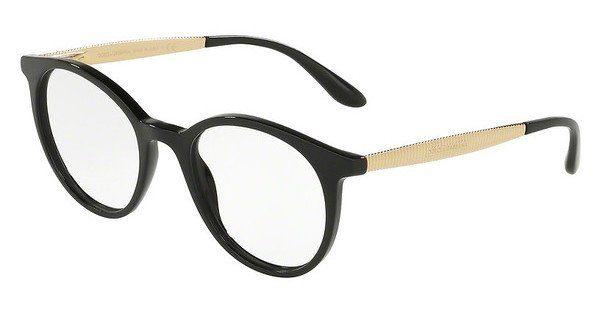 DOLCE & GABBANA Dolce & Gabbana Damen Brille » DG3292«, schwarz, 501 - schwarz