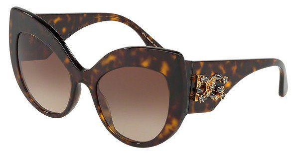 DOLCE & GABBANA Dolce & Gabbana Damen Sonnenbrille » DG4321«, braun, B50213 - braun/braun