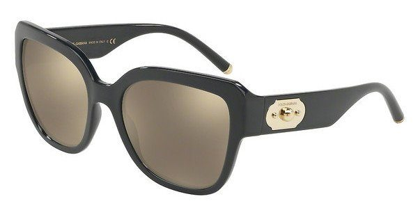 DOLCE & GABBANA Dolce & Gabbana Damen Sonnenbrille » DG6118«, schwarz, 501/87 - schwarz/grau