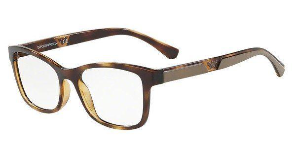 Emporio Armani Damen Brille » EA3128«, braun, 5026 - braun