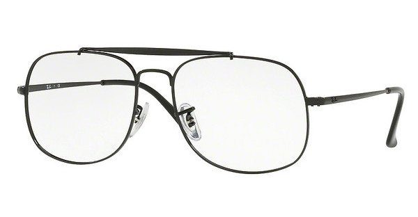 RAY BAN RAY-BAN Herren Brille »The General RX6389«, schwarz, 2509 - schwarz
