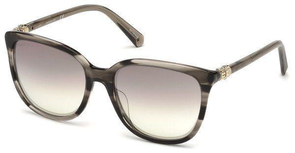 Swarovski Damen Sonnenbrille » SK0146-H«, blau, 90W - blau/blau