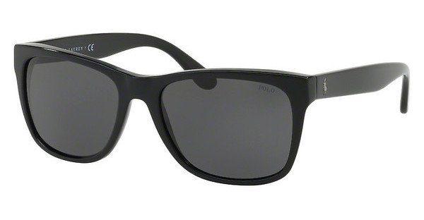 Polo Herren Sonnenbrille » PH4106«, schwarz, 500187 - schwarz/grau
