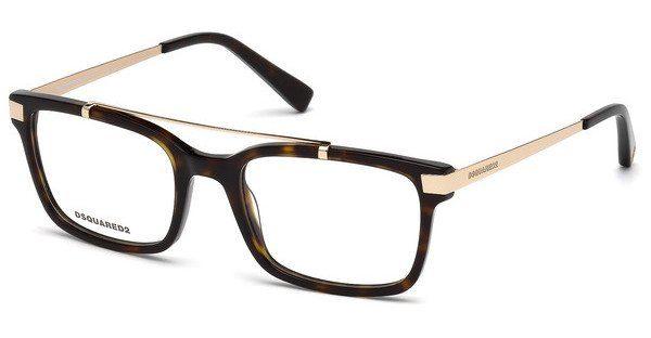 Dsquared2 Brille » DQ5209«, braun, 052 - braun
