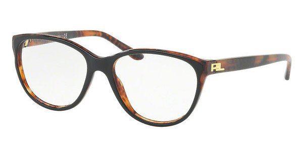 Ralph Lauren Damen Brille » RL6161«, schwarz, 5260 - schwarz