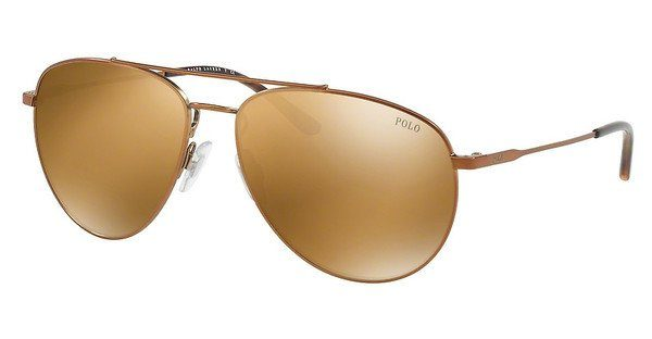 Polo Herren Sonnenbrille » PH3111«, braun, 93177D - braun/gold