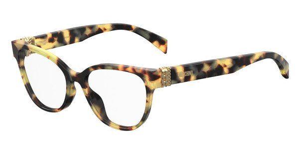 Moschino Damen Brille » MOS509«, gelb, SCL - gelb