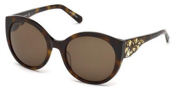 Swarovski Damen Sonnenbrille » SK0174«, braun, 52E - braun/braun