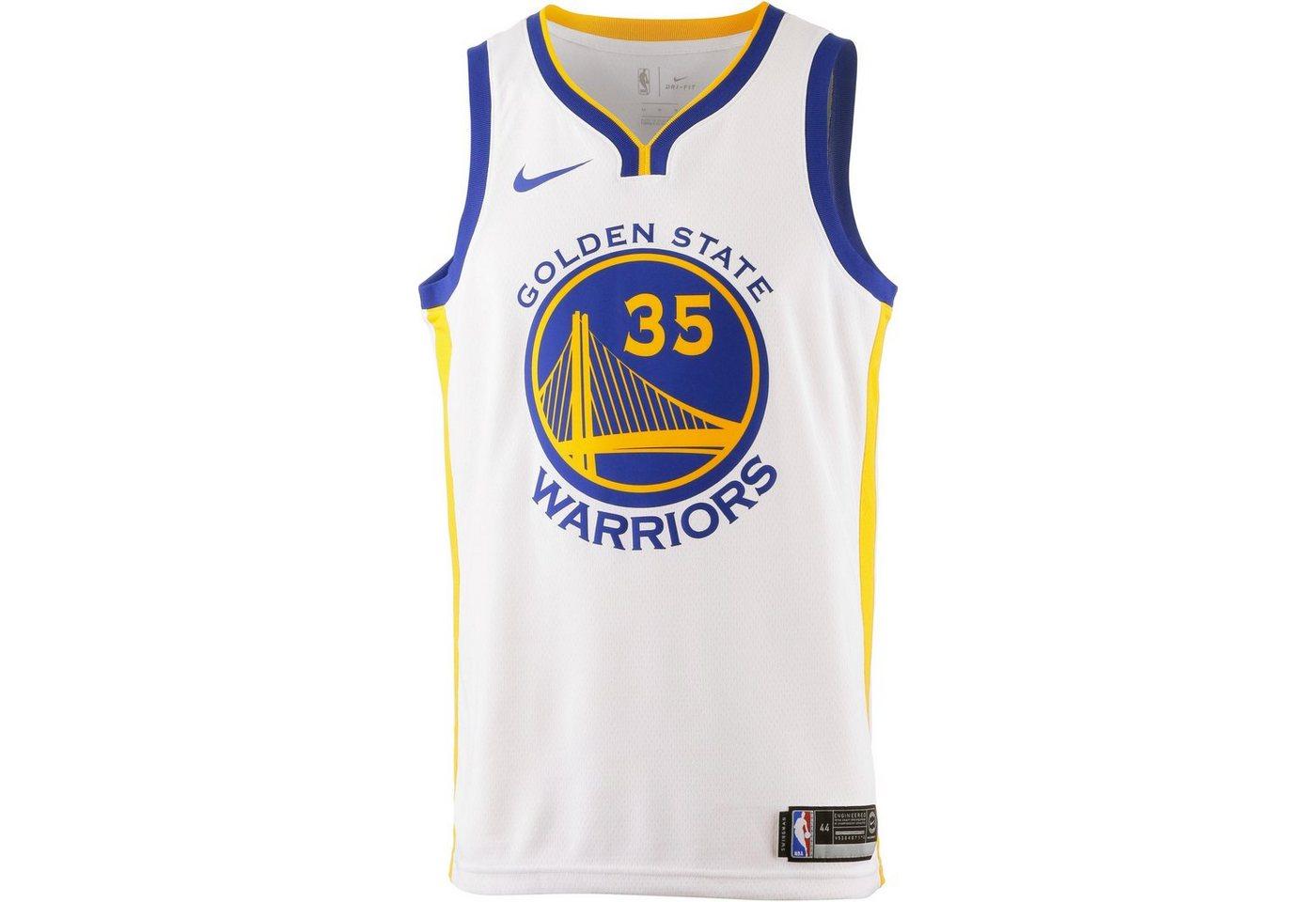 Nike Basketballtrikot »KEVIN DURANT GOLDEN STATE WARRIORS« | Sportbekleidung > Trikots > Basketballtrikots | Weiß | Polyester | Nike