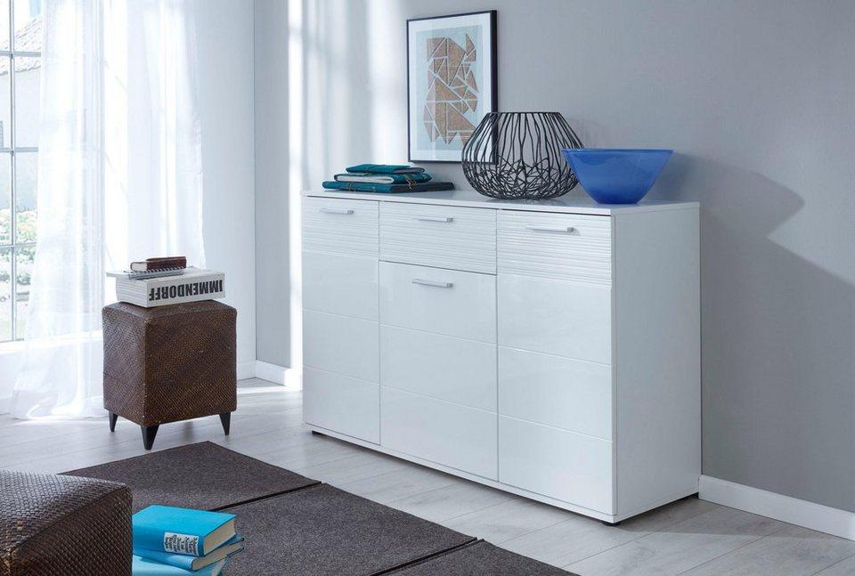 trendteam kommode ice breite 130 cm kaufen otto. Black Bedroom Furniture Sets. Home Design Ideas