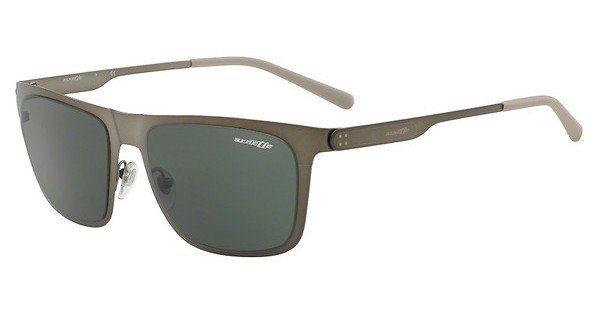 Arnette Herren Sonnenbrille »BACK SIDE AN3076«, grau, 502/71 - grau/ grün