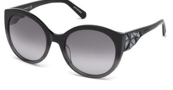 Swarovski Damen Sonnenbrille » SK0174«, weiß, 21E - weiß/braun
