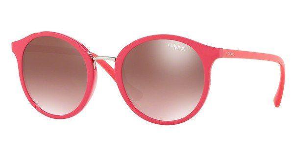 VOGUE Vogue Damen Sonnenbrille » VO5166S«, rot, 2621H8 - rot/grün