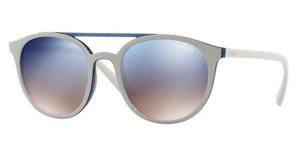 VOGUE Vogue Damen Sonnenbrille » VO5195S«, weiß, 25947B - weiß/silber