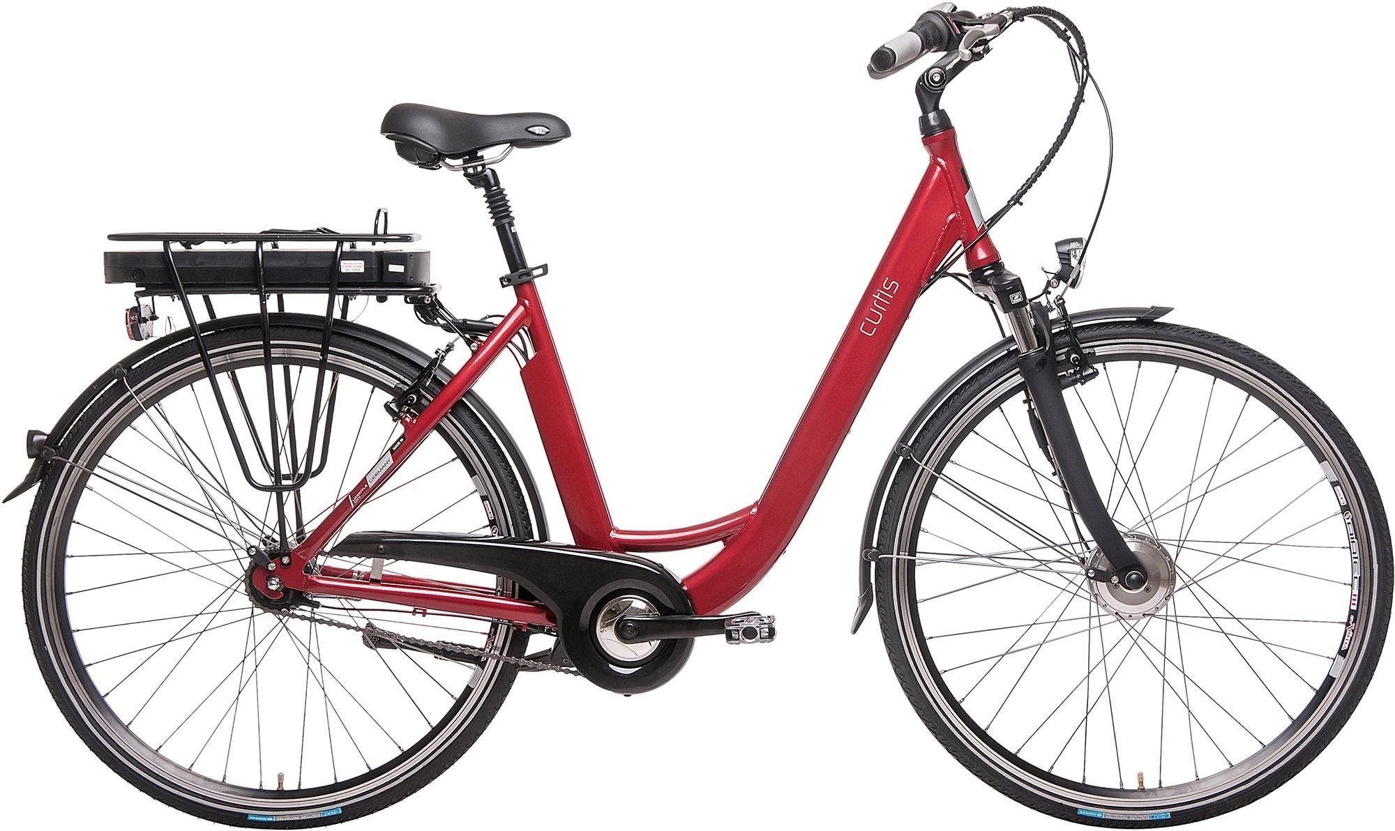 Curtis E-Bike, Frontmotor 250 W