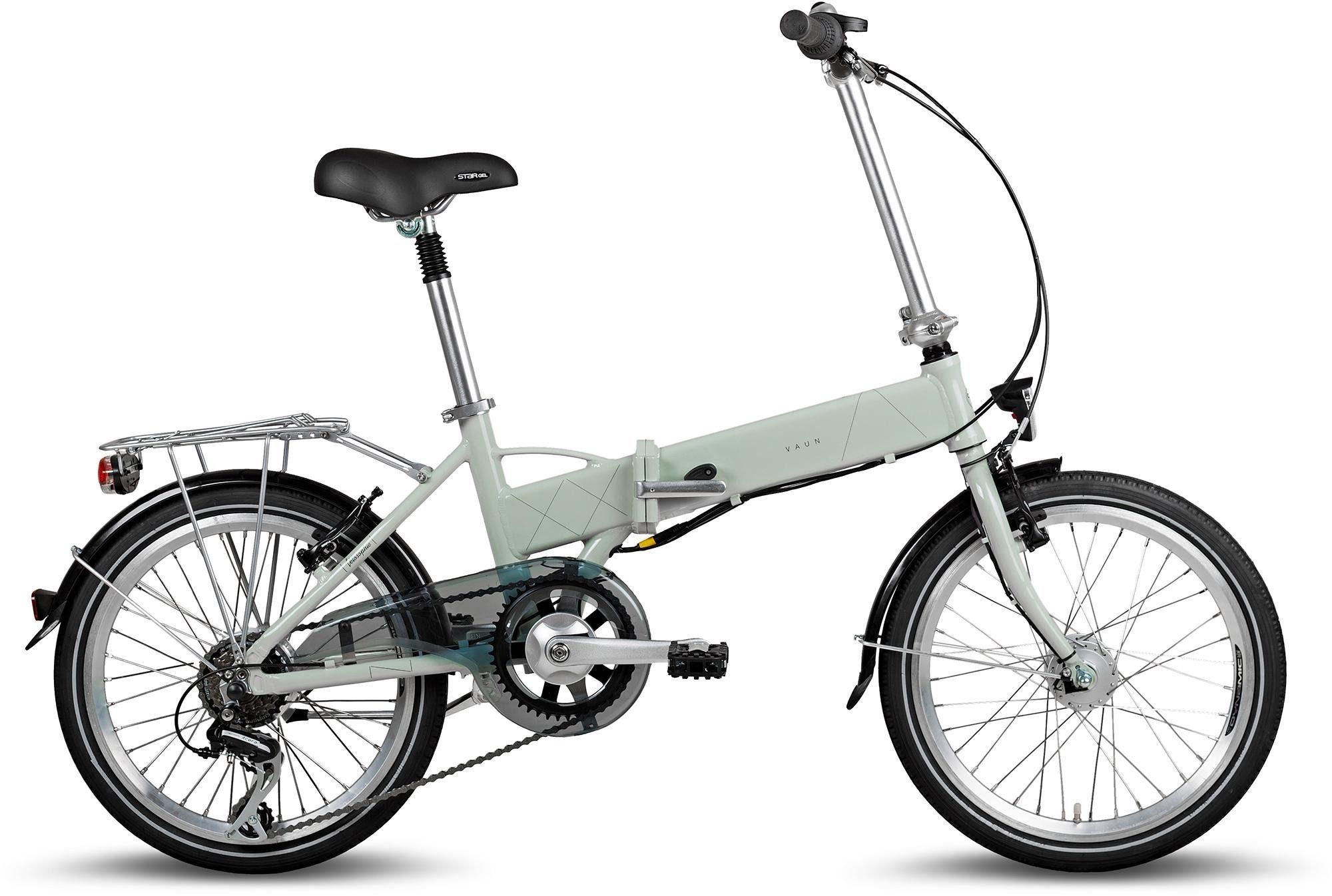 Vaun E-Bike, Heckmotor 250 W