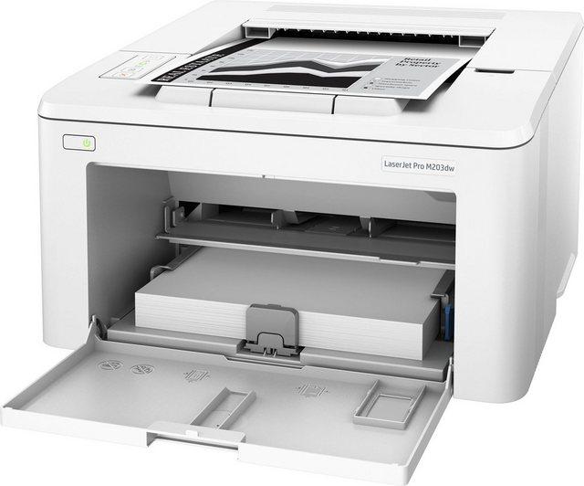 Drucker, Scanner - HP LaserJet Pro M203dw Laserdrucker, (WLAN (Wi Fi)  - Onlineshop OTTO