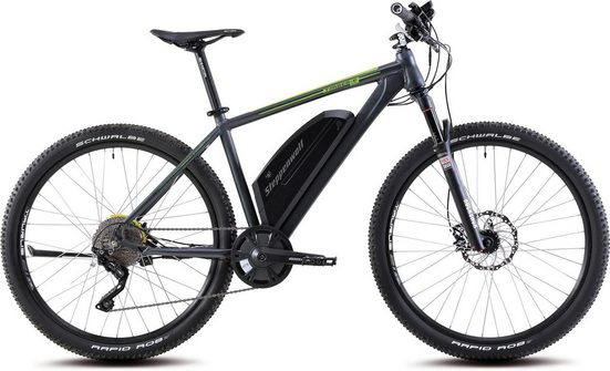Steppenwolf E-Bike, Heckmotor 250 W