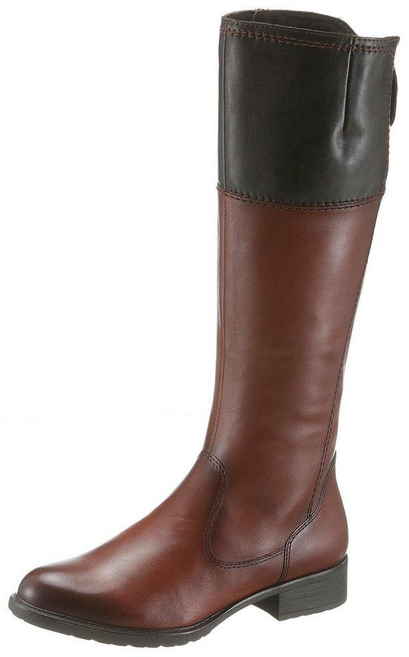 750a2afb904974 Tamaris Stiefel mit variabler Schaftweite von normal bis XL online ...
