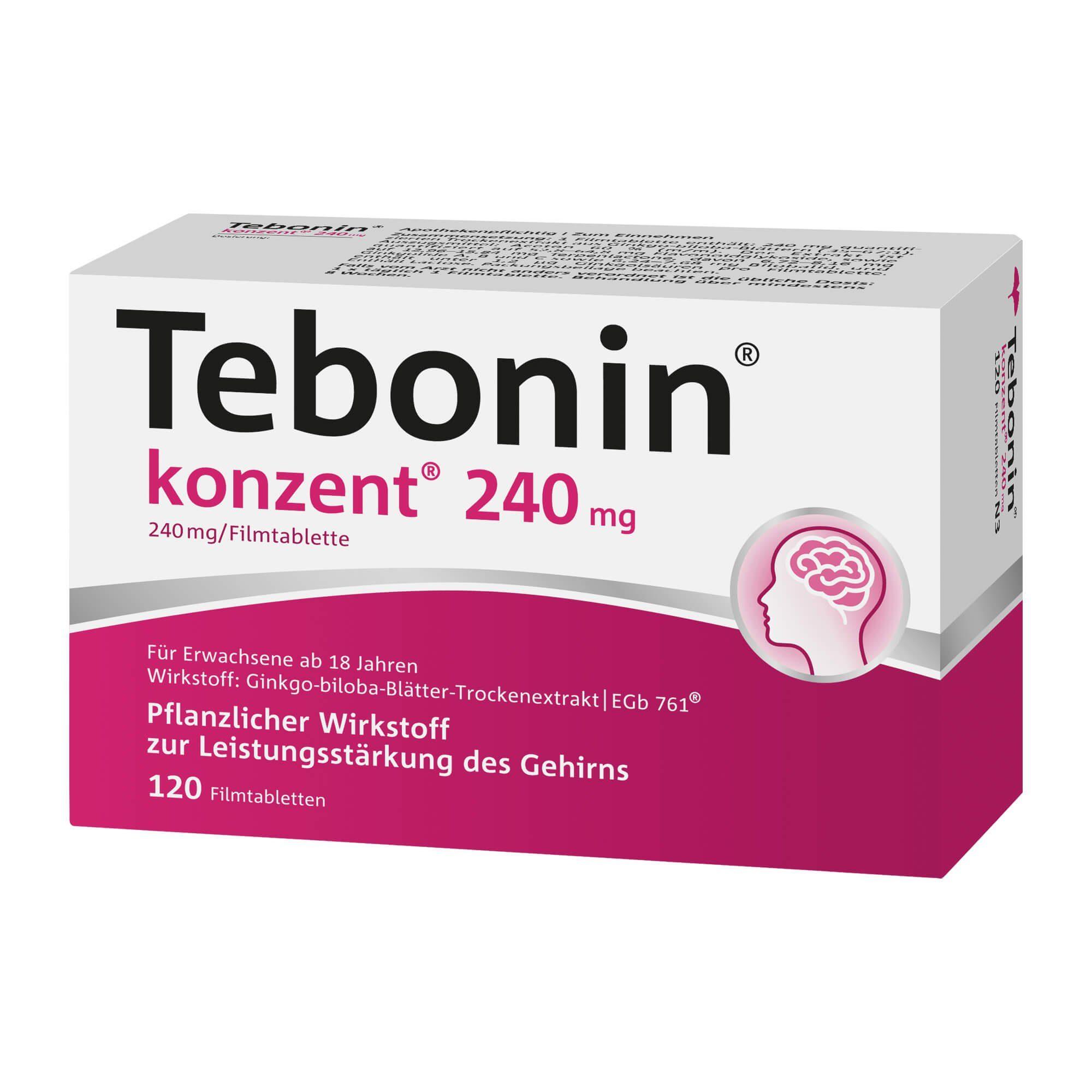 Tebonin Tebonin konzent 240 mg , 120 St