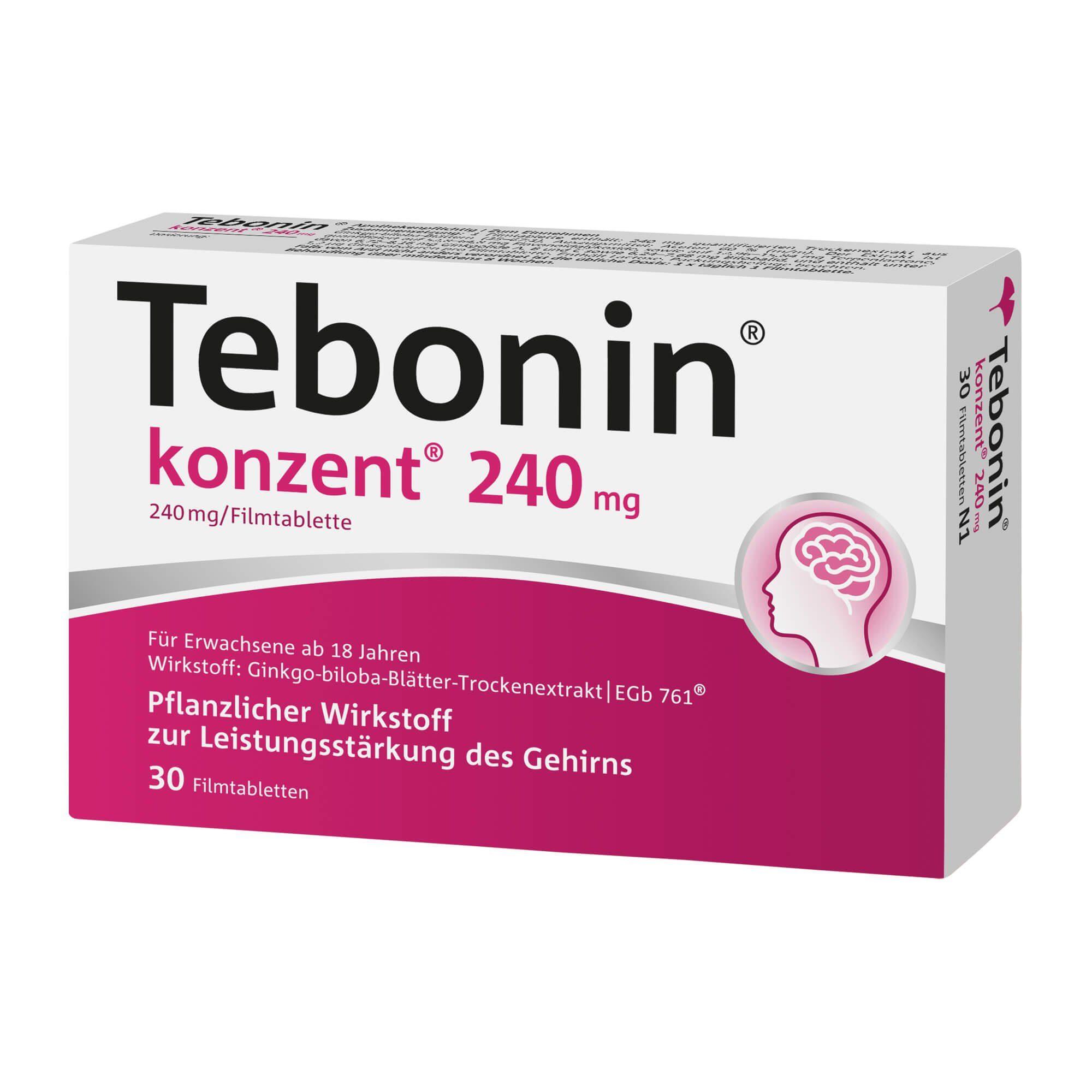 Tebonin konzent 240 mg, 30 St