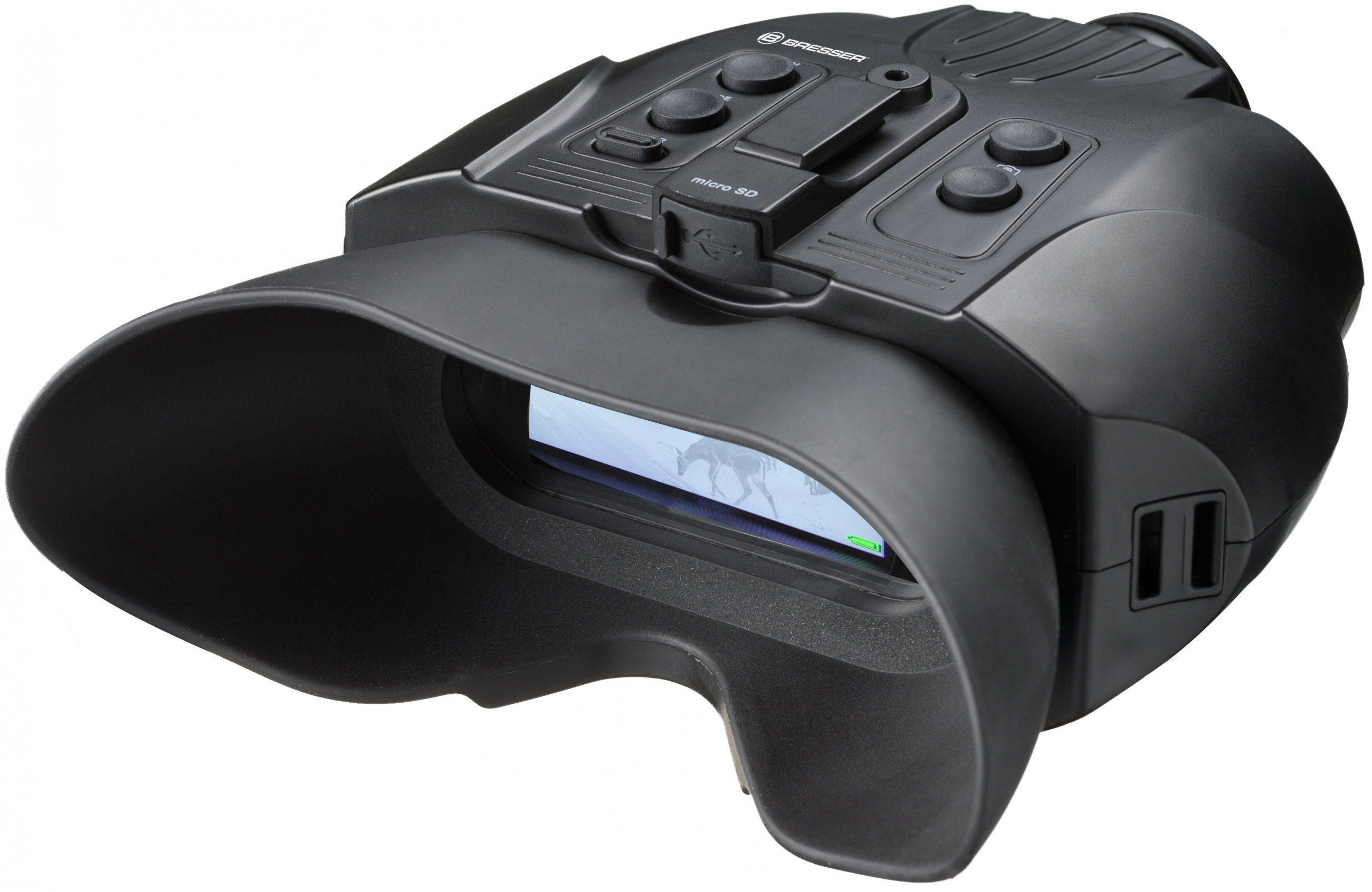Bresser Nachtsichtgerät »Digital Binokular 3x mit Aufnahmefunktion«